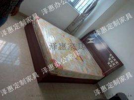 泽惠家具压缩板床1。2米单人床、1。5米双人床、1。8米大床