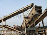 建築垃圾破碎站 礦山破碎生產線 移動式破碎站