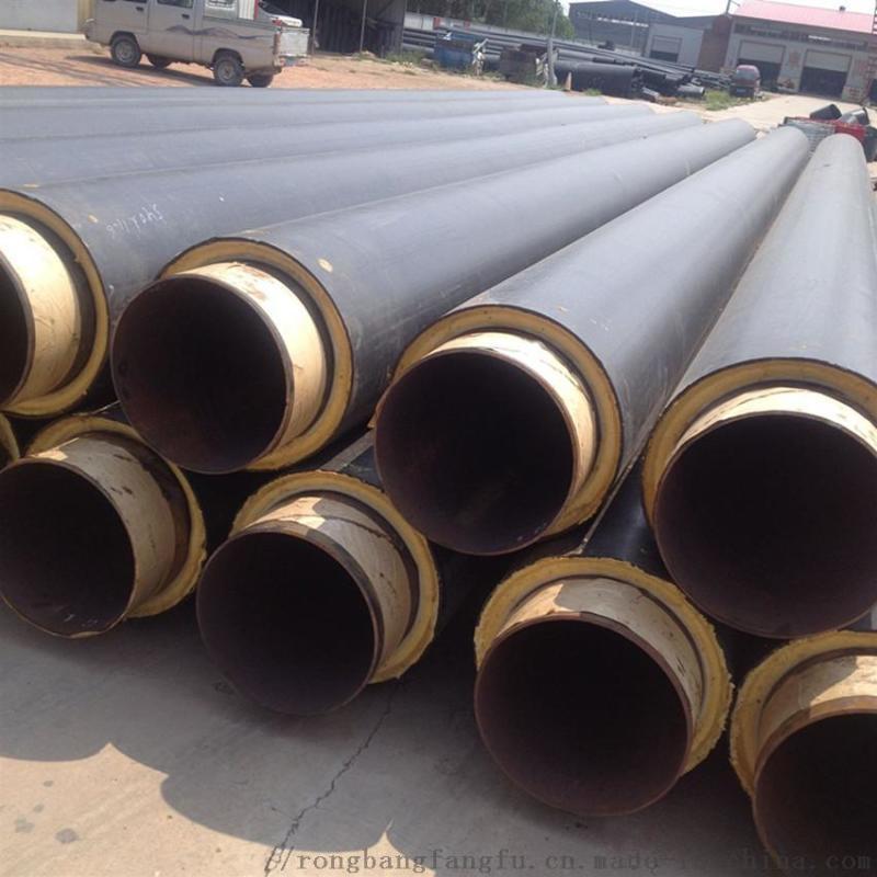 南京预制直埋供暖保温管,聚氨酯热力保温管道