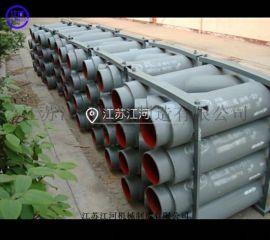 合金双金属耐磨三通 双金属复合管材 江河耐磨材料