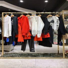 怡纹淘宝直播尾货货源,广州大版女装服装走份