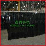 現貨供應 防靜電全黑窗簾 PVC黑色網格門簾