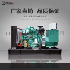 无刷永磁发电机50千瓦 微型家庭用电启动50kw柴油发电机组 三相