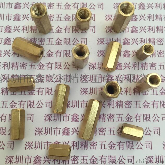 深圳 六角铜螺柱 PC板支撑柱 安防螺柱
