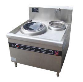 不锈钢电磁灶,衡水不锈钢单炒单温灶,衡水厨房设备