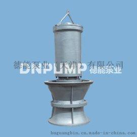 指导安装泵站大流量轴流泵