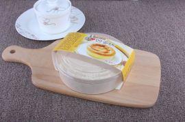 凹蛋糕包装盒子烘培包装木制乳酪蛋糕盒4寸6英寸蛋糕盒