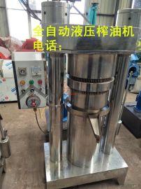 全自动韩式快速液压榨油机,180型自动调节毛油温度