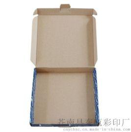 4S店车灯包装盒 牛皮纸瓦楞盒 翻盖包装盒