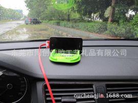 卡通車載手機支架手機座禮品訂購 pvc軟膠制作而成