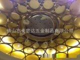 酒店大堂弧形不锈钢线条 不锈钢制品厂加工 来图定做