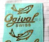 制作供应电铸logo,金属贴字镍片,分体金属镍标,超薄金属商标牌