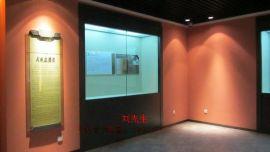深圳博物馆展览柜恒温恒湿电动开门展示柜防爆玻璃展示柜定制