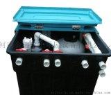一体化净水处理设备地埋式污水处理设备别墅池水净化