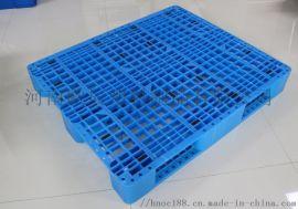 川字网格1.3*1.1米面粉塑料托盘|物流塑料托盘