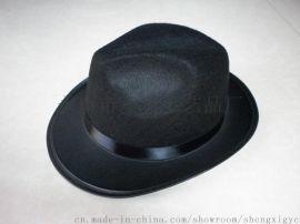 供应 男女礼帽(SX622h-28)成人礼帽 无纺布毛毡帽