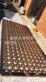 黑龙江中式金属雕花装饰隔断厂家