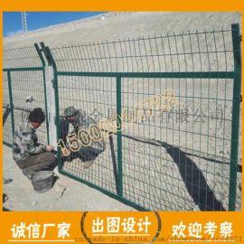 国标镀锌钢丝网 深圳边框隔离网厂家 铁路钢丝浸塑网