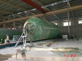 玻璃鋼地埋式化糞池和模壓化糞池的區別