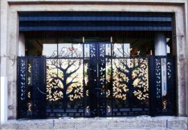 铁艺大门 别墅庭院大门  铁门  欧式豪华铁门