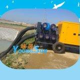 2000立方防汛移动泵车  柴油机水泵机组  柴油机混流泵