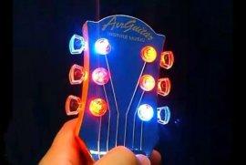 空氣吉它 空氣燈光