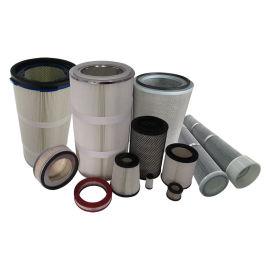 工业空气除尘滤筒,非标定制除尘滤芯