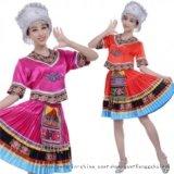 风格汇美苗族舞蹈服头饰 少数民族舞蹈演出服