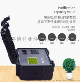 内置电池便携式 LB-7022D餐饮油烟监测仪