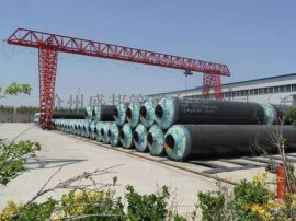 钢套钢直埋保温管道厂家--环保工程