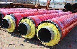 预制直埋钢套钢蒸汽保温管定尺加工