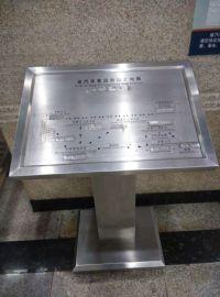 汽車客運站不鏽鋼指引牌地鐵指示標牌計程車蝕刻標牌
