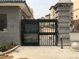小区人行通道广告门 栅栏门