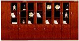 油漆木皮文件柜 二门文件柜 环保板材胡桃木皮