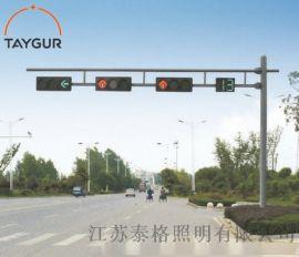 泰格指示燈,交通路燈,監控燈組合路燈杆,紅綠燈