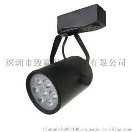 橱窗展厅LED射灯,服装店装潢导轨灯
