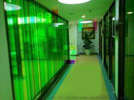 上海办公室玻璃贴膜 公司形象墙制作 免费上门测量