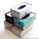 保險公司專業定制禮品馬口鐵紙巾盒
