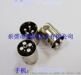 MINIDIN中4P粗針連接器車針,連接器,連接器車針
