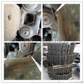 山推正厂101节距焊板链条  PC20/30履带总成