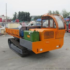 农用** 履带底盘式运输拖拉机 液压橡胶履带底盘