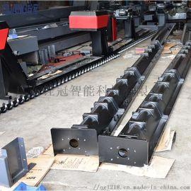 龙门铣床螺旋排屑机数控机床加工中心CNC