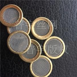 普宇16mm包边滤片不锈钢圆形滤网净化器