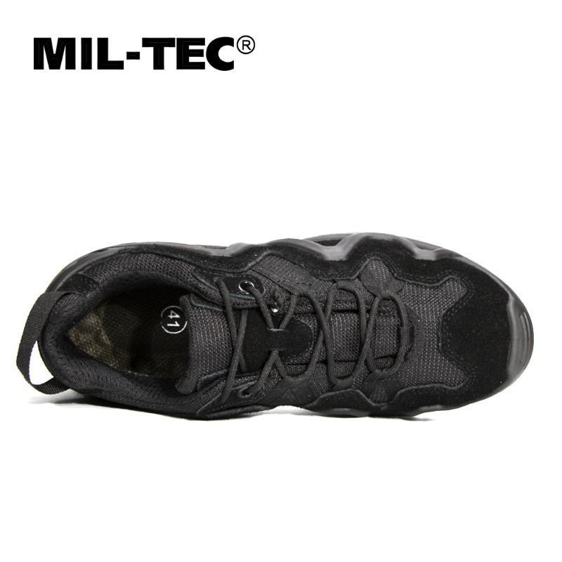 低帮特种兵军靴MILTEC春夏战术靴靴真皮美军超轻德军07男防水作战