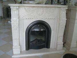 大理石装饰壁炉