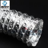 i深圳鑫翔宇铝箔玻纤布复合通风软管,耐高温排风管,耐高温风管
