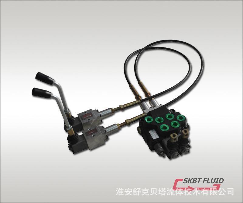 SKBT40-2OT-1.2米(弹簧复位)系列软轴控制多路阀