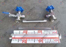 不锈钢液位计(卡盘50.5)液位计 卫生级液位计