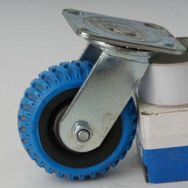 厂家直销 5寸工业风火轮万向脚轮 手推车工业脚轮 定向脚轮静音轮