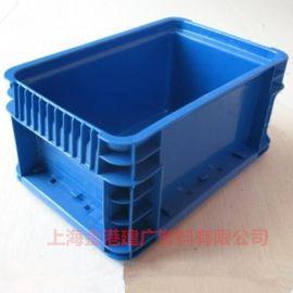 供应 大手柄EU塑料周转箱 400*300*147 塑料物流箱 电子包装箱